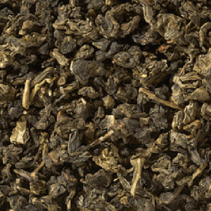 Oolong te med store blade