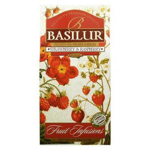 Basilur frugt te med jordnær og hindbær smag